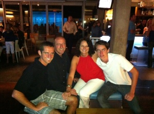 McFamily at JRDN in Pacific Beach (San Diego)